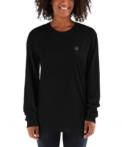 Black Classic Cotton Long Sleeve T-Shirt