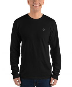 Charcoal Classic Cotton Long Sleeve T-Shirt