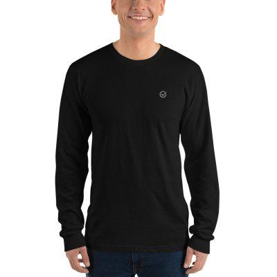 Charcoal Classic Cotton Long Sleeve T-Shirt