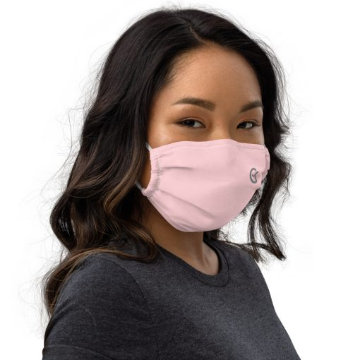 Real Face Covid Masks - Woman Pink