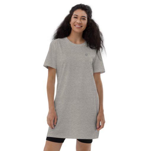 Gray Organic Cotton T-Shirt Dress