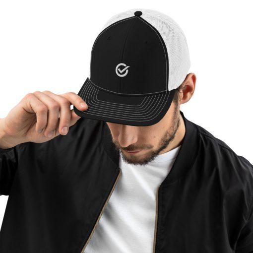 Black and White Classic Cap