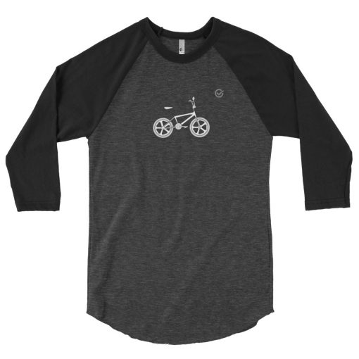 Retro BMX 3/4 Sleeve Raglan Shirt