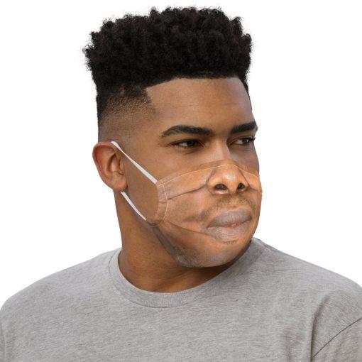 Real Face Covid Masks - Man