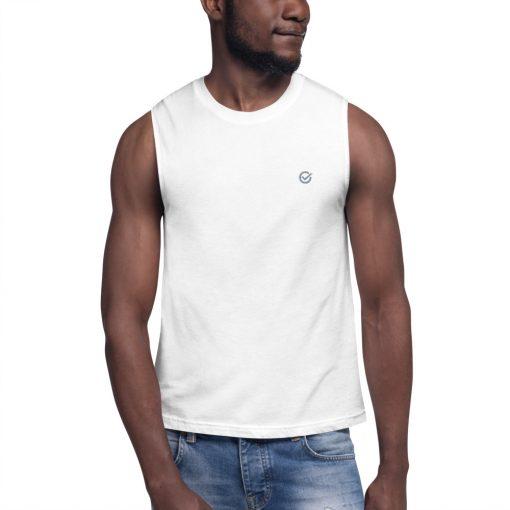 White Classic Muscle Shirt