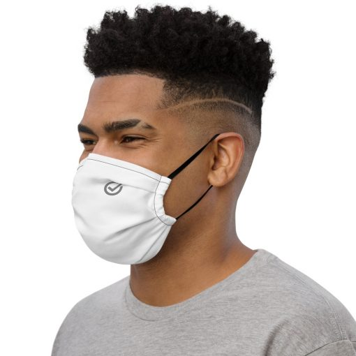 White 3 ply nose wire covid mask