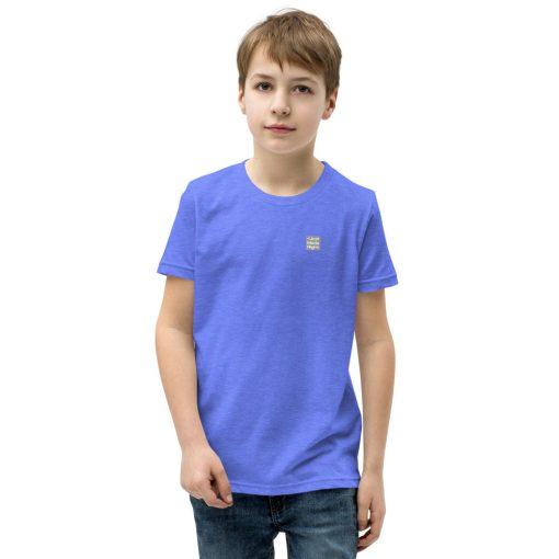 Violet Blue Cotton Premium T-Shirt