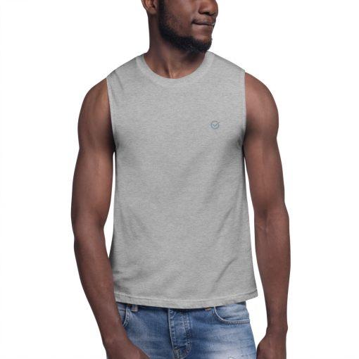Gray Classic Muscle Shirt