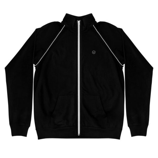 Black Piped Jacket