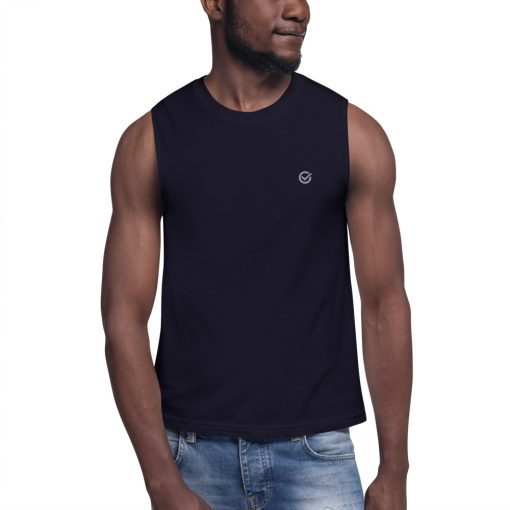 Navy Classic Muscle Shirt