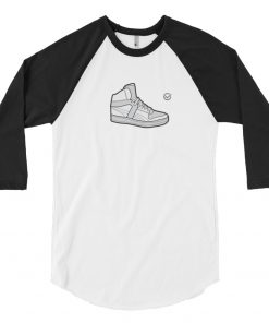 Retro Hi-Top 3/4 Sleeve Raglan Shirt