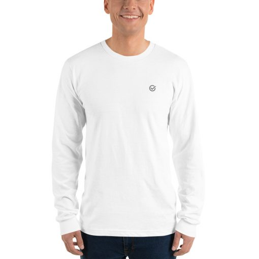 White Classic Cotton Long Sleeve T-Shirt