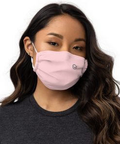 Real Face Covid Masks - Woman Pink