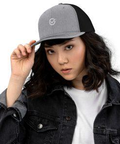 Black and Gray Classic Cap