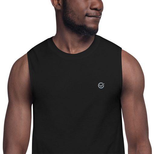 Black Classic Muscle Shirt