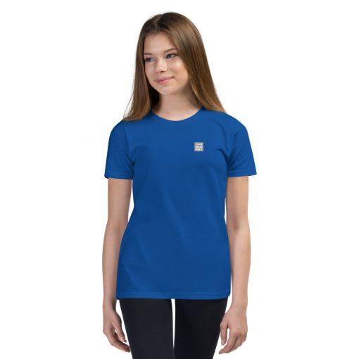 Blue Cotton Premium T-Shirt