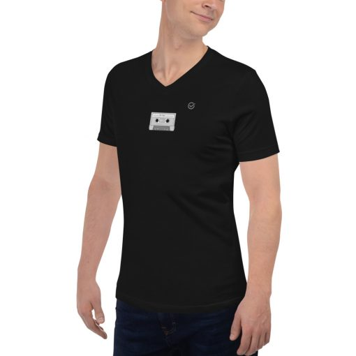 Born in the 80s Mix-Tape Black T-Shirts