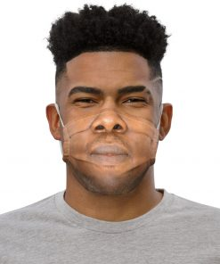 Real Face Covid Masks - Man