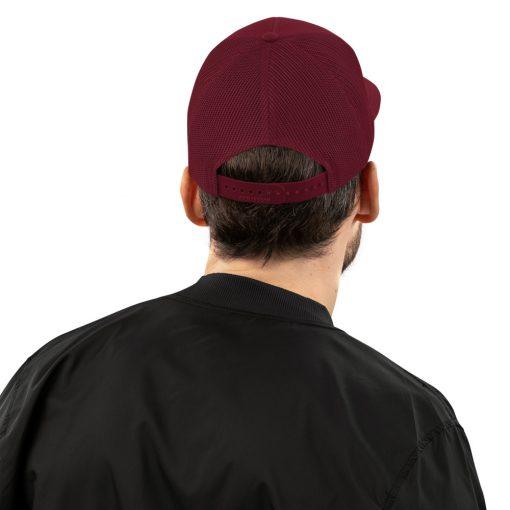 Burgundy Classic Cap