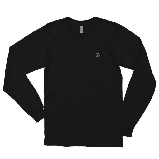 Black Classic Cotton Long Sleeve T-Shirt