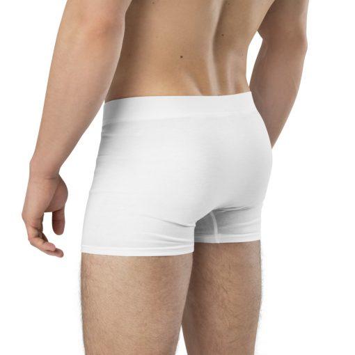 Comfy Boxer Briefs with Santa Pants design - Santa has a present for you