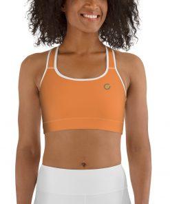 Sport Bra in Orange
