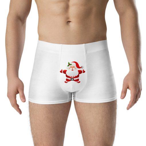 Boxer Briefs with Santa Pants design