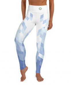 Yoga Premium Leggings with Emerald Design and hidden pocket