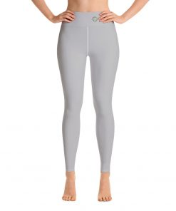 Yoga Premium Leggings in Yellow, with Hidden Pocket