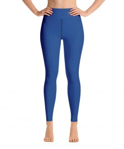 Yoga Premium Leggings in Navy, with Hidden Pocket