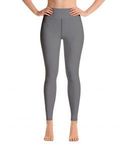 Yoga Premium Leggings in Dark Gray, with Hidden Pocket